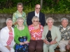 Top row: Bea, George Brennfleck, Bottom row: Mary Lou, Arlene, Mom, Kerry, Dale