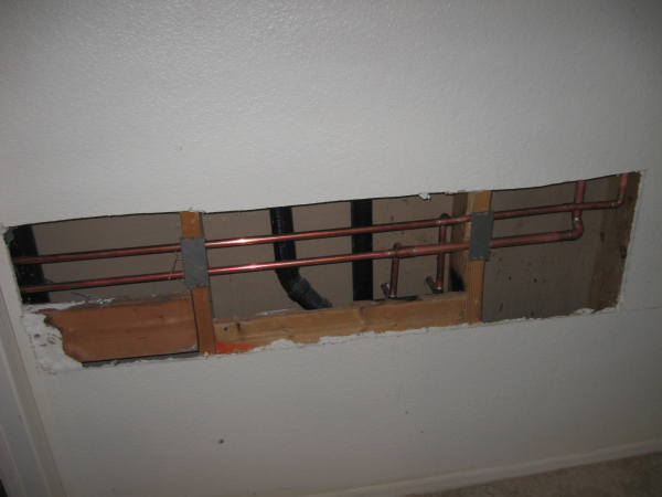 Replumb Of House To Replace Polybutylene Pipe With Copper